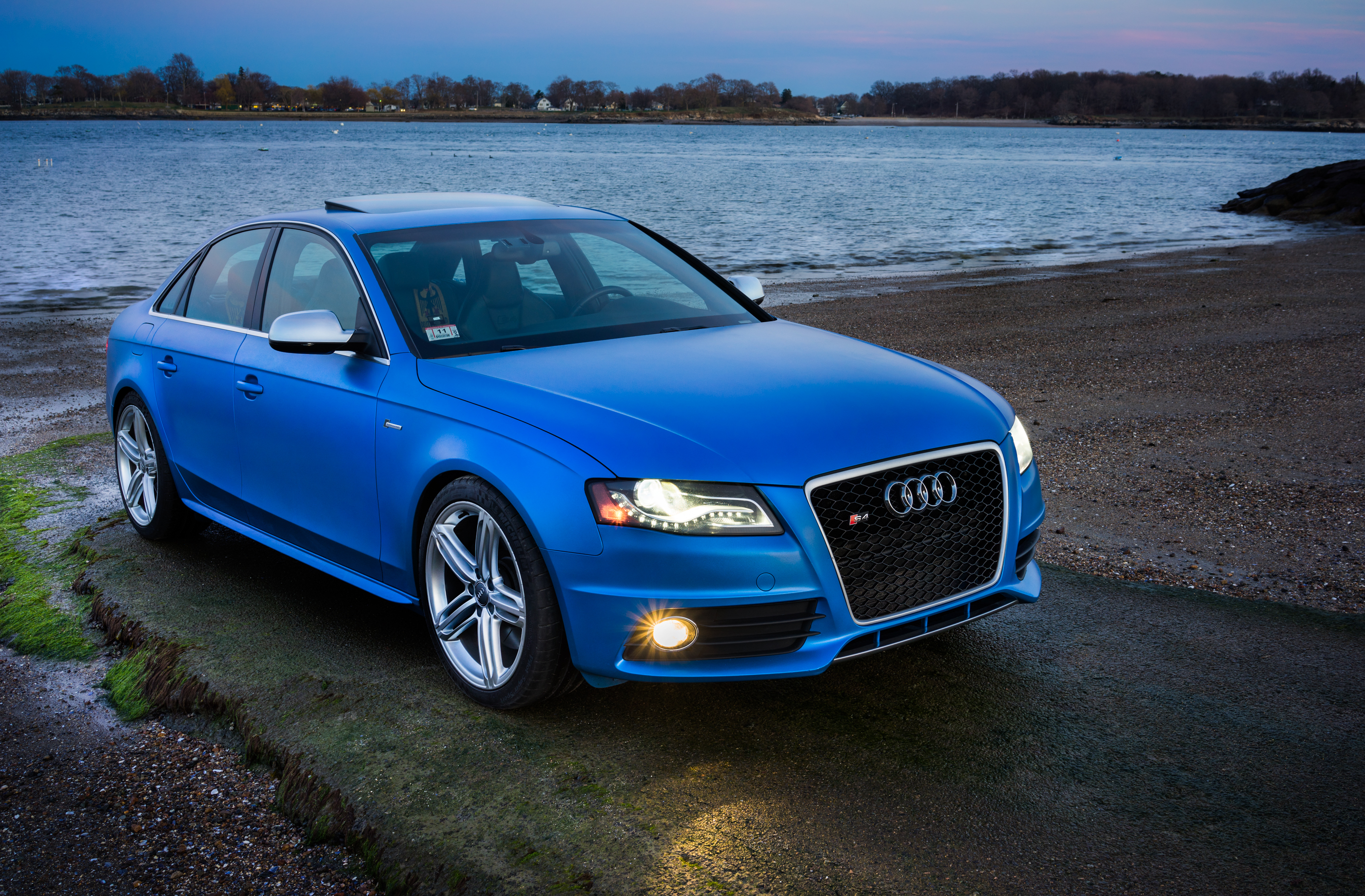 Custom Blue Pearl 2011 Audi S4