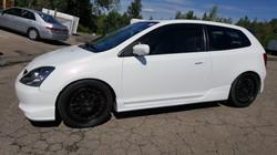 Civic Type R in Premium Coatings
