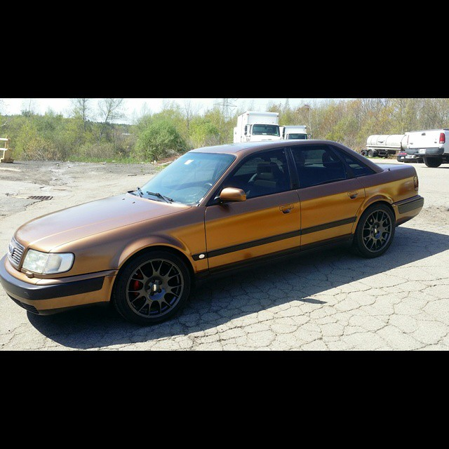 Instagram - Completed this first gen Audi S4 in Double Shot Espresso from @kppig
