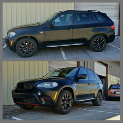 Instagram - This X5 is all protected for this upcoming winter!  Completed this b
