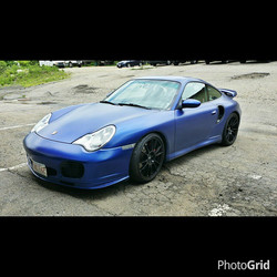 Instagram - 996 Turbo we completed over the winter with our Satin Deep Sea Blue