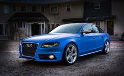 Custom Blue Pearl 2011 Audi S4