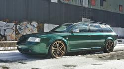 Audi S6 Avant in Premium Coatings
