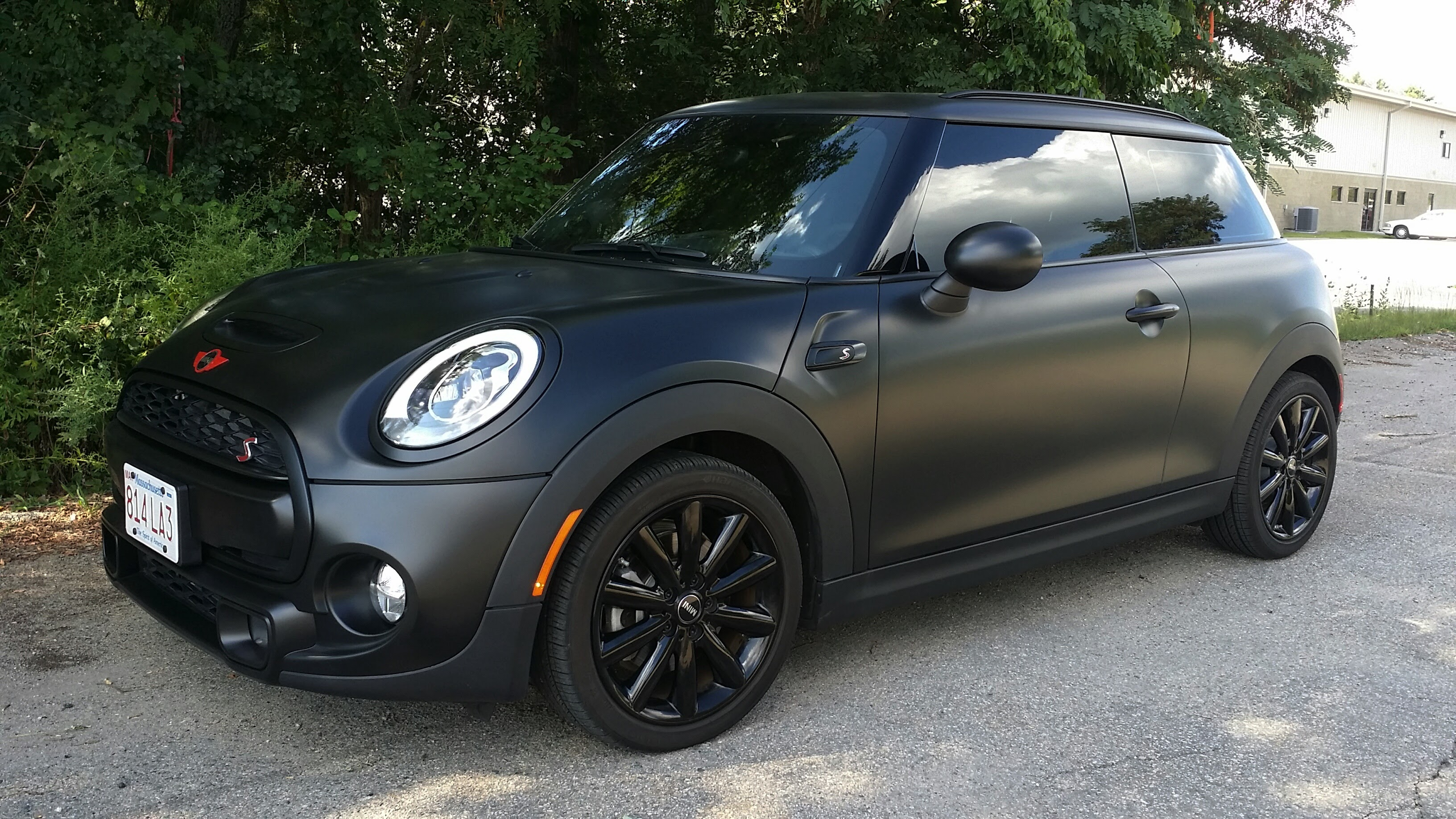 Matte Black Halo EFX Mini Cooper