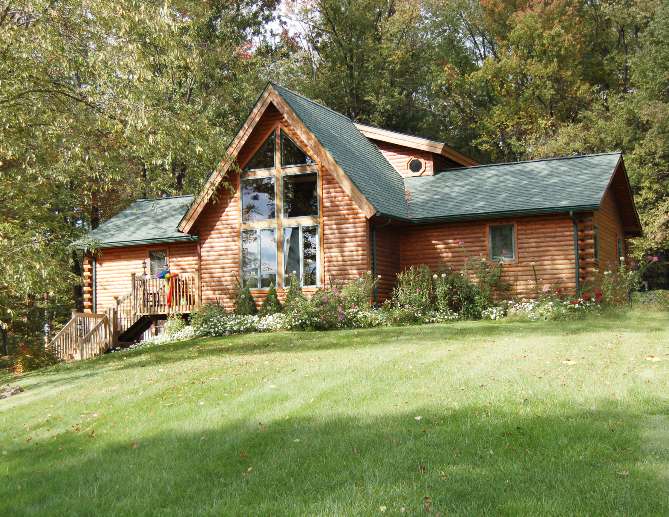 Shenango Log Home Plan