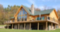 Contempry Cedar Direct Log Home