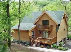Brookside Log Home Plan