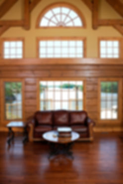 Cedar Direct Log Home Lakeside
