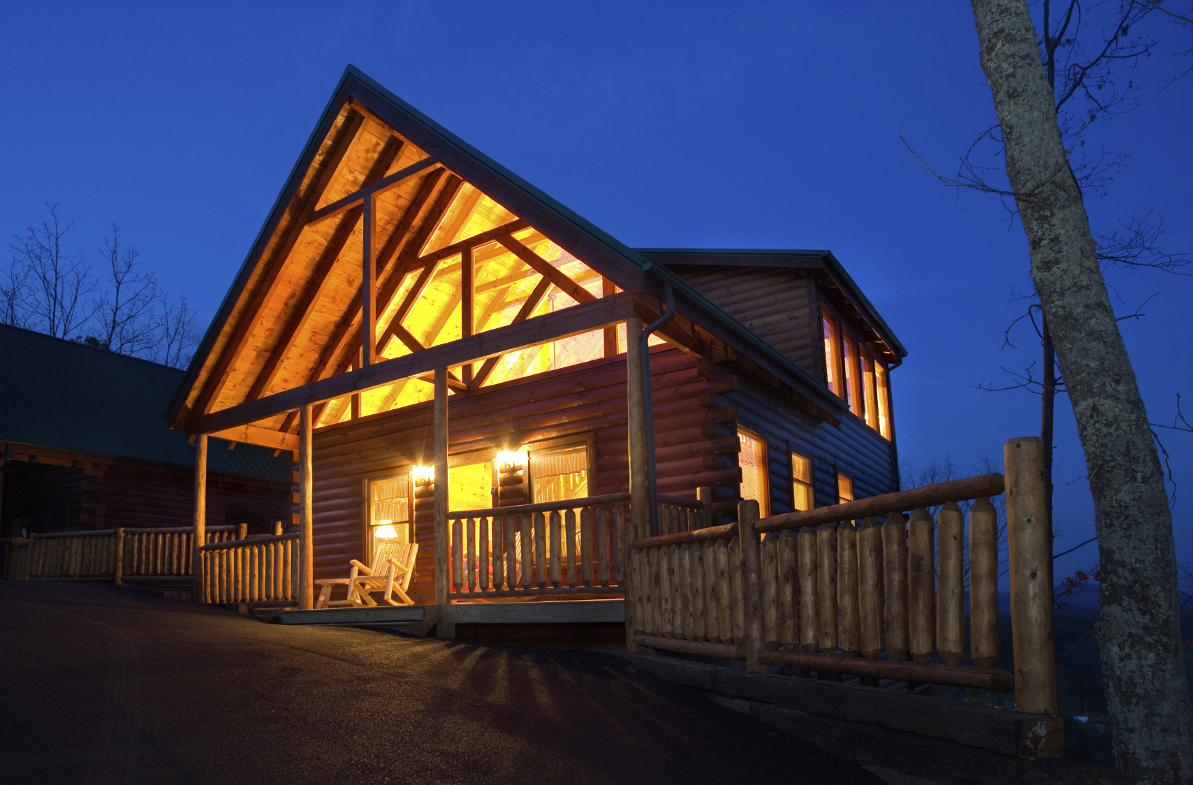 Laurel Mtn 2 Log Home Plan