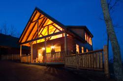 Laurel Mtn 2 Log Home Plan
