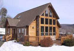 Laurel Mountain Log Home Plan