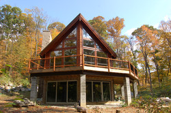 Lake Arthur Log Home Plan