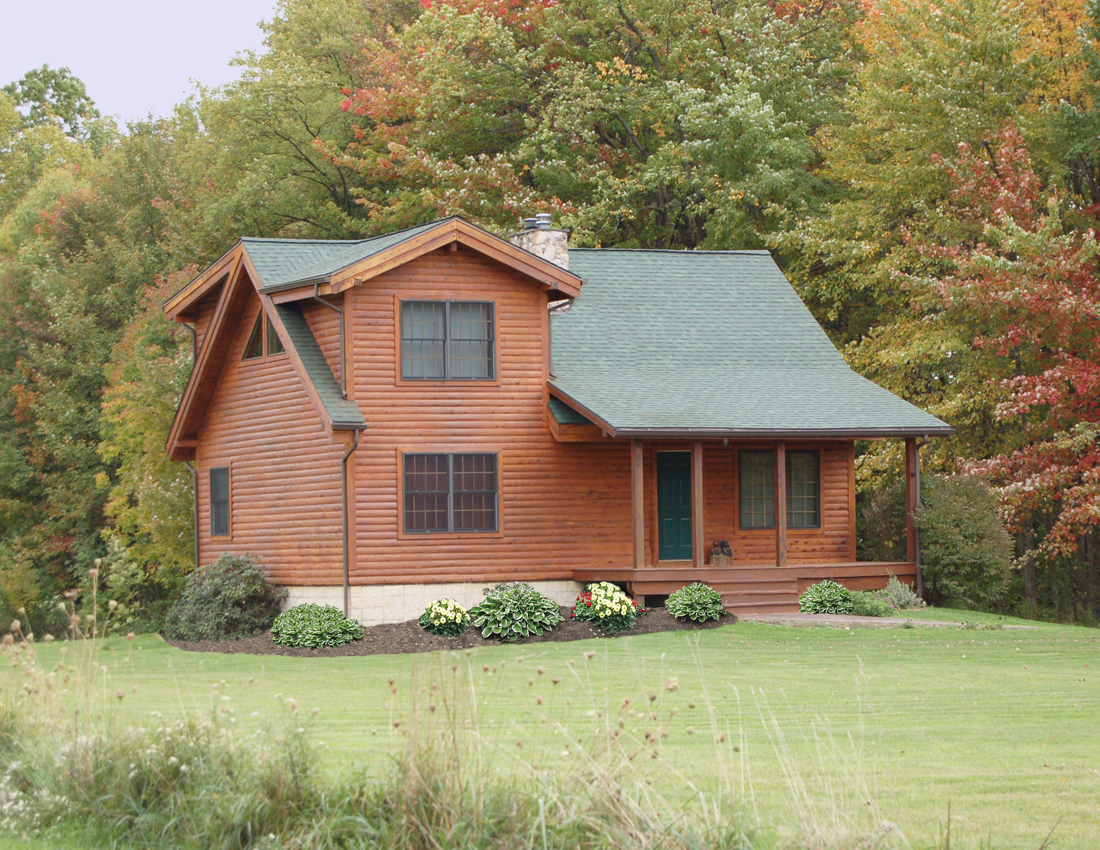 Cedar Grove Log Home Plan