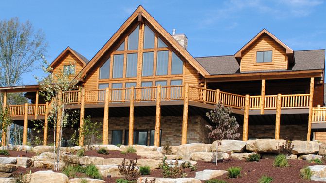 6 Reasons to build a log home now!