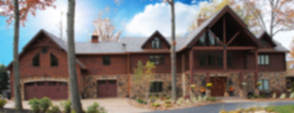 Timbertop Cedar Log Home Estate