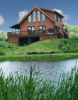Buckeye Log Home Plan