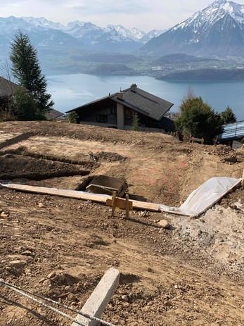 Beton und Fundament