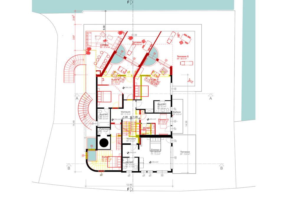 Pläne und Visualisierungen