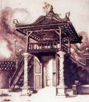 Pintu Gerbang Masjid Kg Hulu Melaka