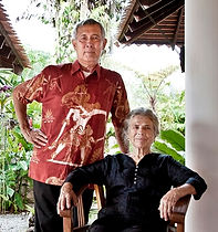 Ilse and her husband, Tengku Nazif