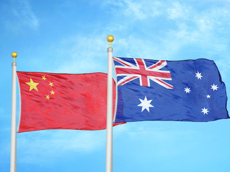 Rising Australian - Chinese Trade Tensions Put Both Countries at Risk
