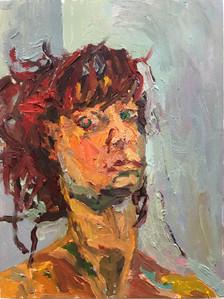 Self Portrait After The Car Crash