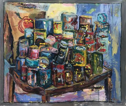 "2020 oil on canvas 48""x60"" 122x153 cm"