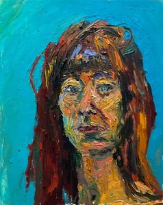 Self Portrait Back on Meds