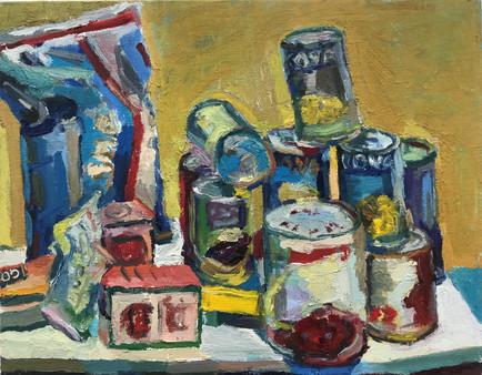 "2020 oil on canvas 11""x14"" 28x35,6 cm"