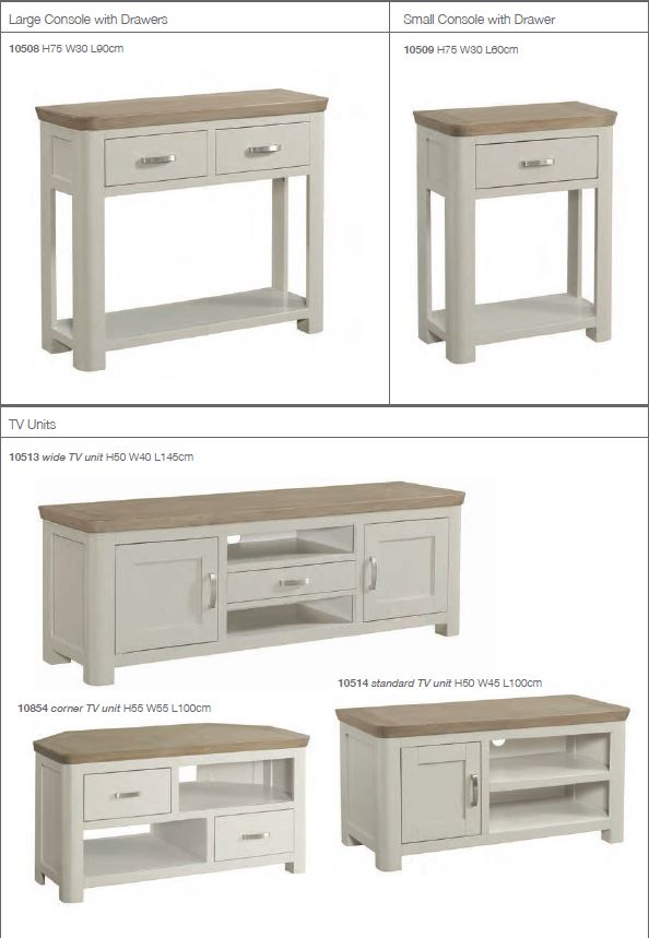 Charlston Painted console