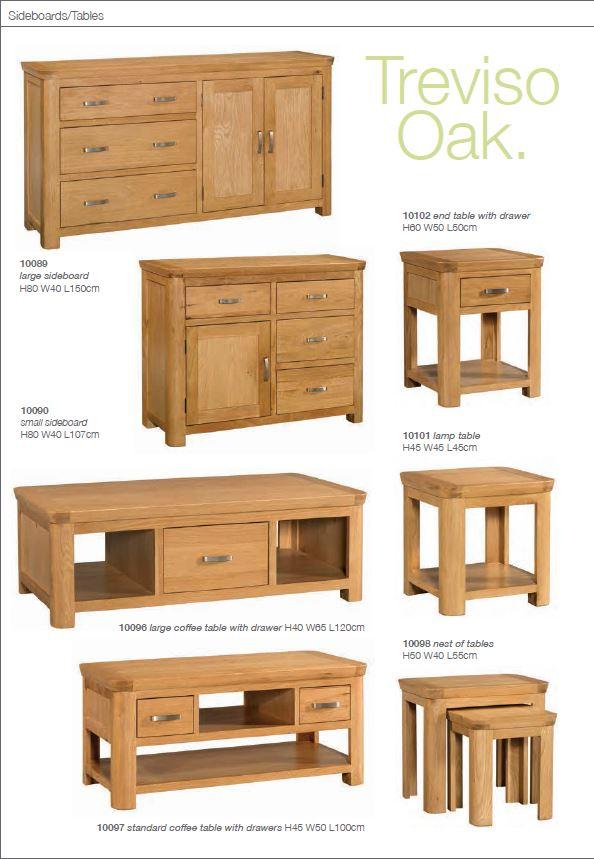 Charlston Oak sideboard