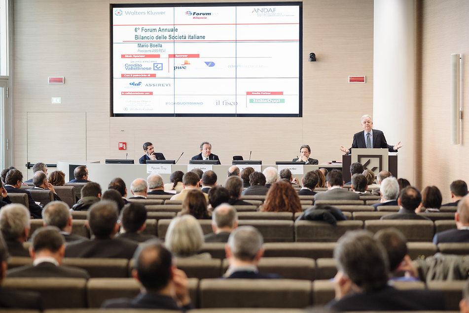 Fotografie congressi Milano