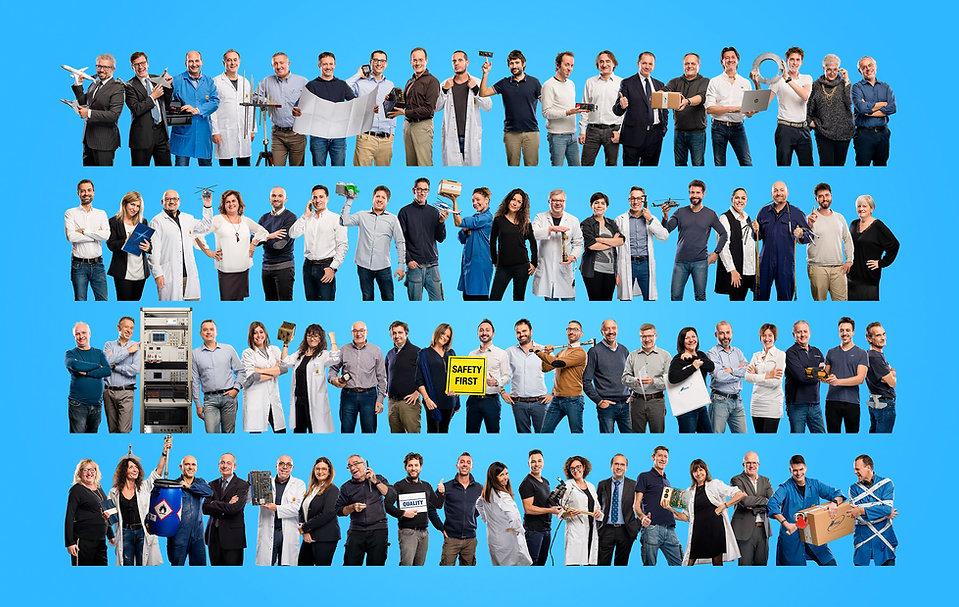 Foto di gruppo aziendale