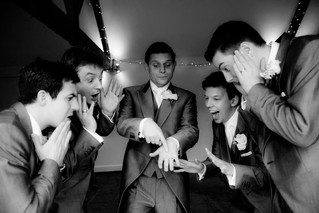 Having a laugh with the Boys