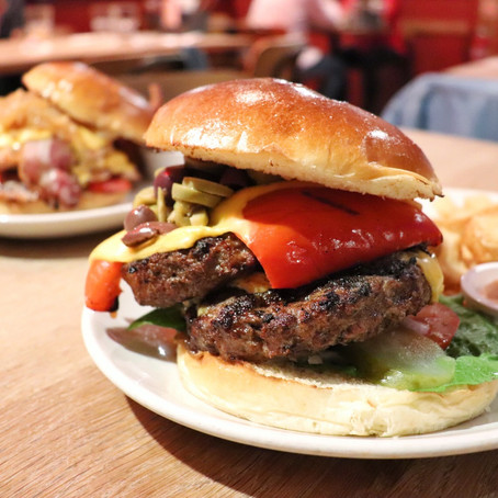 Build Your Own Burger @ Burger Joint