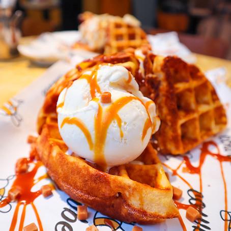 Delicious Gluten Free Waffles @ CowBee
