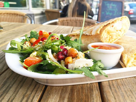 Delicious Healthy Wraps @ Young & Foodish