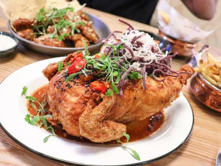 BEST Chicken @ Backyard Restaurant