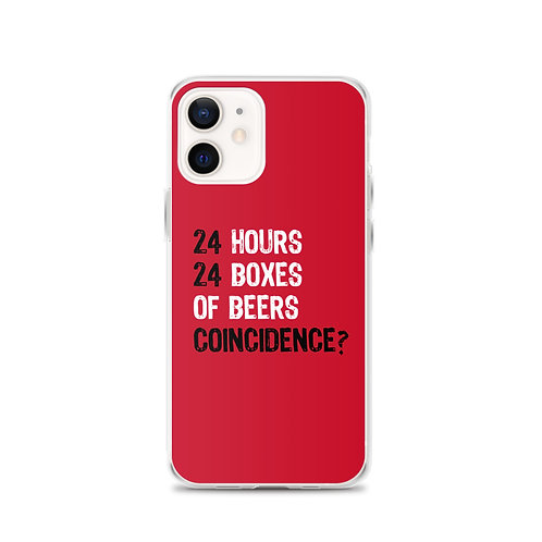 Beer Coincidence - iPhone Case