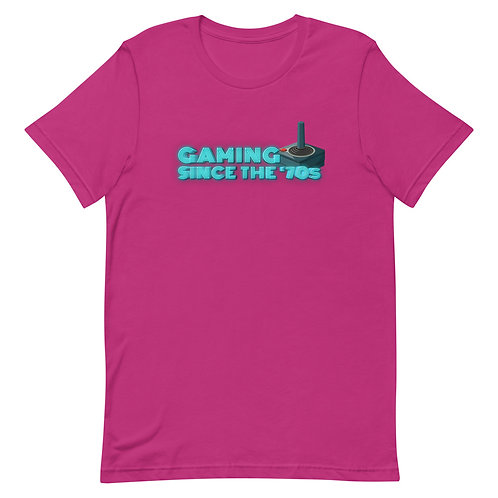 Retro Gaming 70's - Short-Sleeve T-Shirt