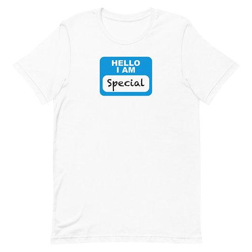 Hello I'm Special - Short-Sleeve T-Shirt