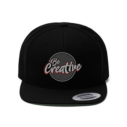 Be Creative - Unisex Flat Bill Hat