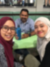 L-R: Hafizah, En Tahar Jumaat, Nurul.jpg