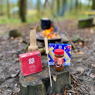 Campfire and donations from Co-op Local