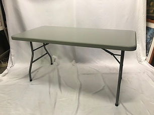 Pre-owned 30x60 Blow Molded Folding Table