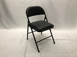 Pre-owned Padded Metal Folding Chair