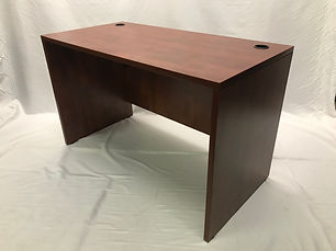 Pre-owned 48x24 Cherry Desk Shell (30+ Available!)
