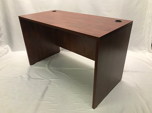Pre-owned 48 x 24 Cherry Desk Shell