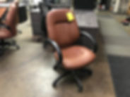 Special--OTG2788 Managerial Chair--Saddle