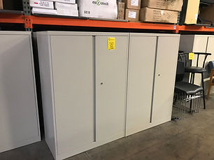 Pre-owned Steelcase Storage Cabinet 52h